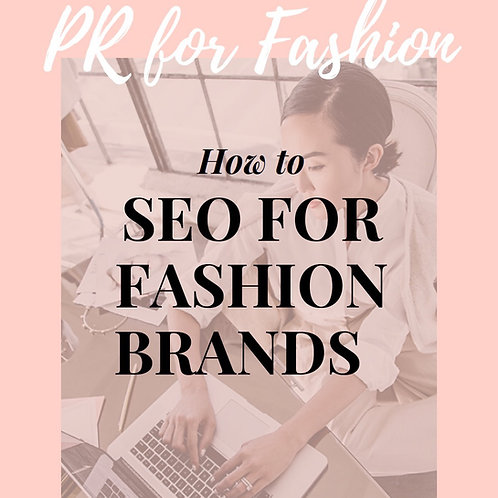 SEO FOR FASHION BRANDS
