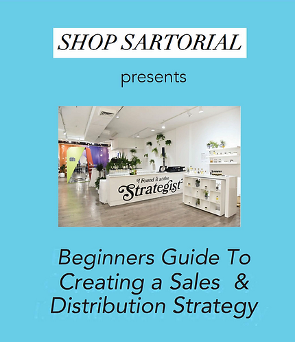Beginners Guide To Creating A Sales & Distribution Strategy