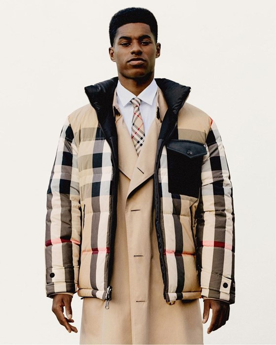 Burberry donation unused fabric to fashion students