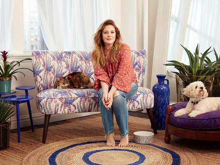 Drew Barrymore Joins the Home Team