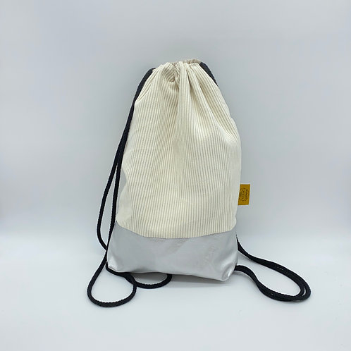 Backpack Adults - Corduroy Off White