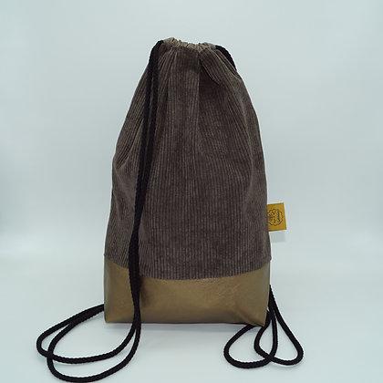 Backpack Adults - Corduroy Brown