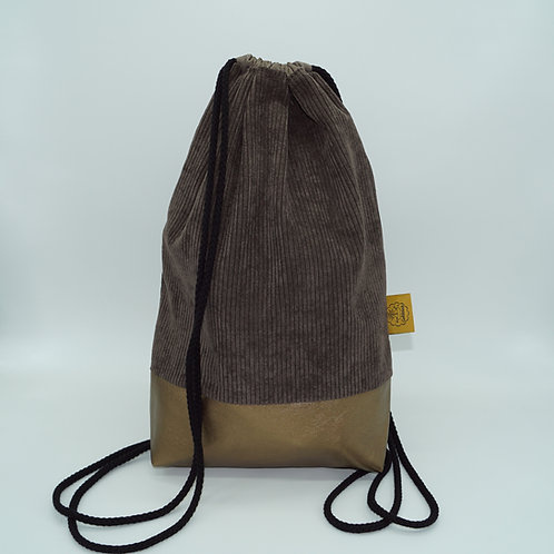 Backpack Adults - Corduroy Brown