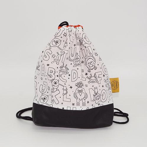 Backpack Kids - Coloring Monsters