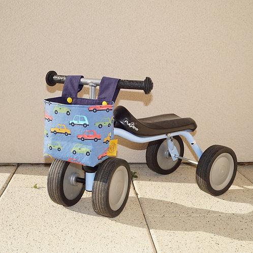 Bicycle Basket - Cars