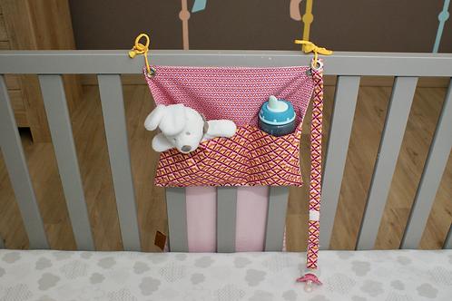 Bed Pocket - pink
