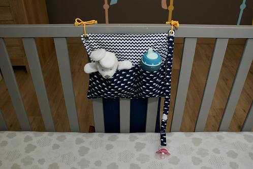 Bed Pocket - blue