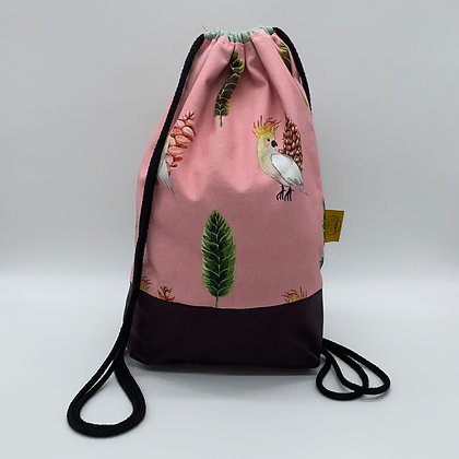 Backpack Adults - Pink Parrot