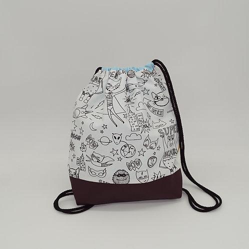 Backpack Kids - Coloring Superhero