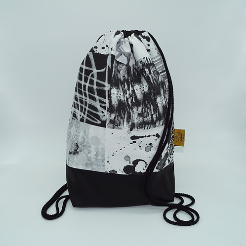 Backpack Adults - Black/White Spots