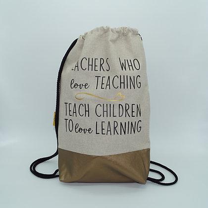 Backpack Adults - Teachers who love teaching