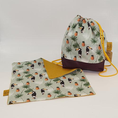 Backpack / Napkin Set