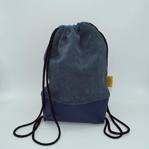 Backpack Adults - Corduroy Blue