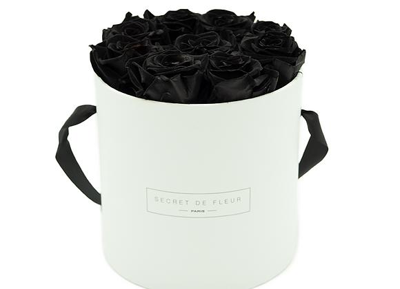 White Eternal Collection - Medium Deep Black