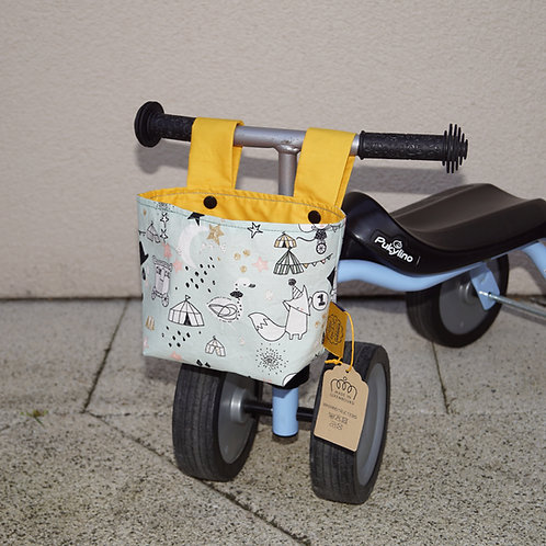 Bicycle Basket - Circus
