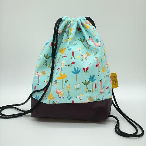 Backpack Kids - Flamingo colours