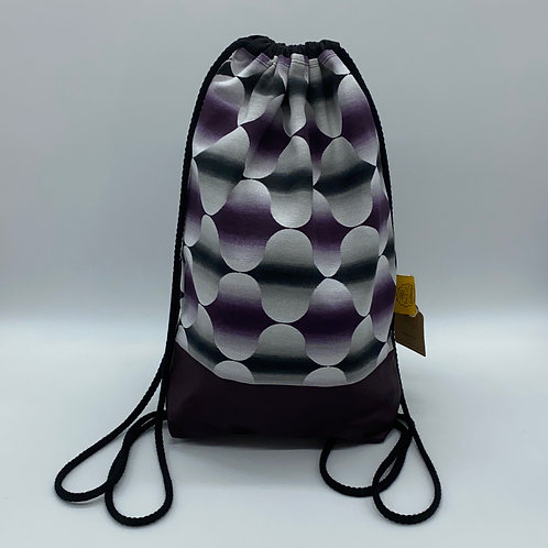 Backpack Adults - Mauve Bubbles