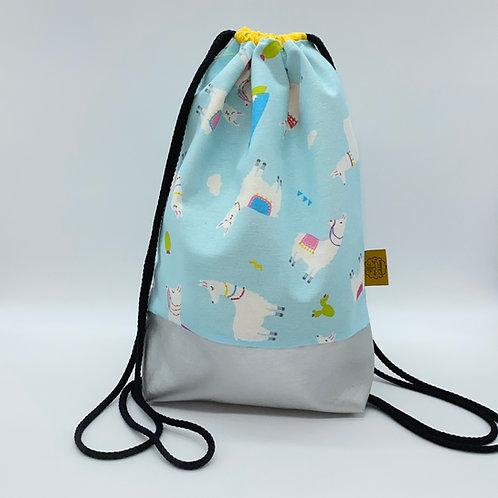 Backpack Adults - Colourful Alpaca