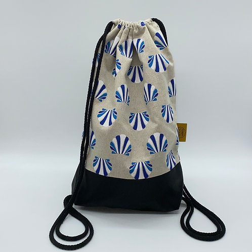 Backpack Adults - Blue Shells