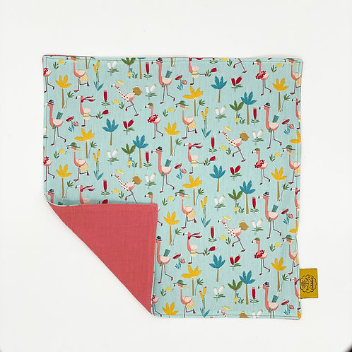 Napkin - Colorful Flamingos