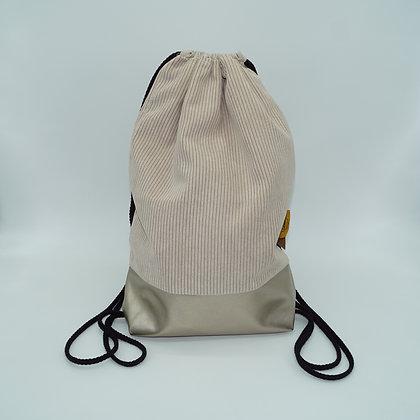 Backpack Adults - Corduroy Beige