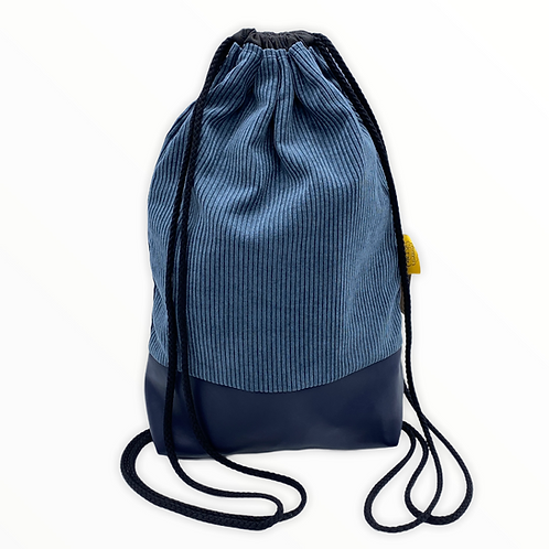 Backpack Adults - Corduroy Blue