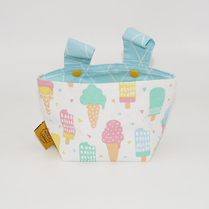 Bicycle Basket - Ice Cream