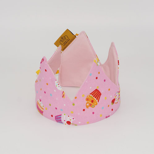 Birthday Crown - Cupcakes