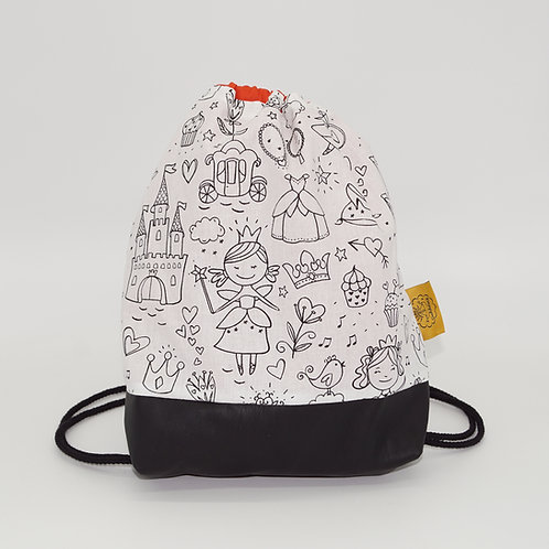 Backpack Kids - Coloring Princess