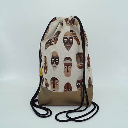 Backpack Adults - African Masks