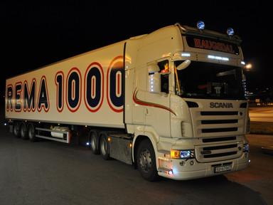 Haugsdal Transport med Rema 1000