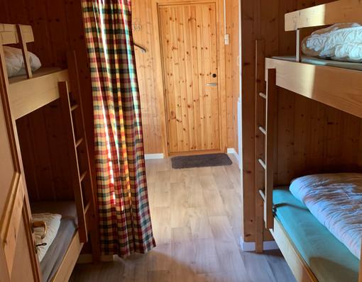 Soverom hytte 2
