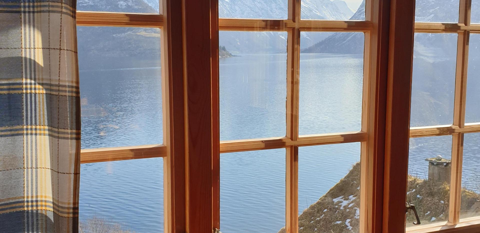 Utsikt hytte 5
