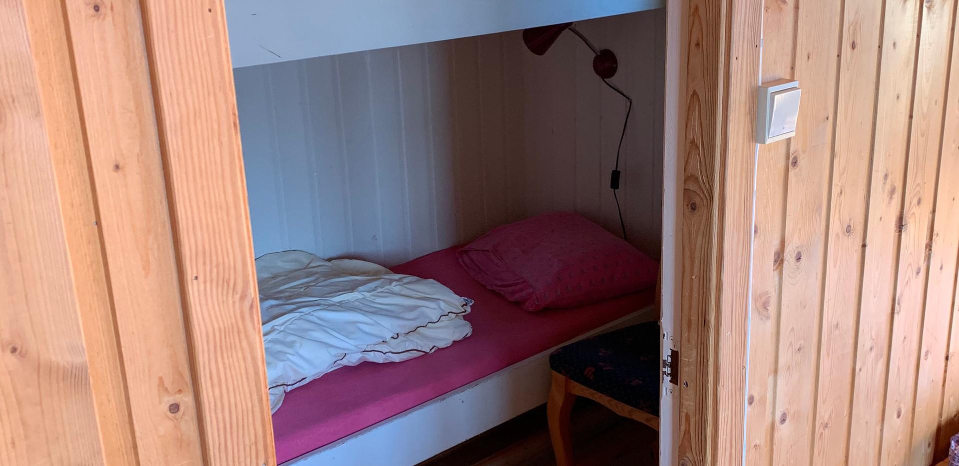 Soverom hytte 1