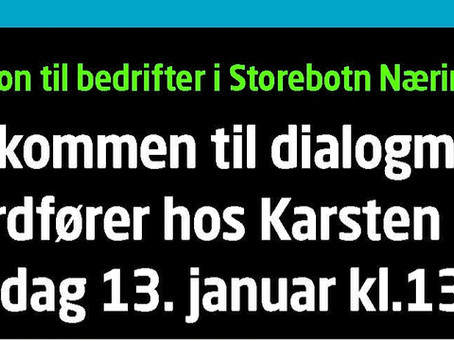 Invitasjon til bedrifter i Storebotn Næringspark