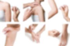 Kortison injeksjoner forskjellige steder på kroppen