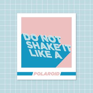 Polaroid - Do Not Shake It