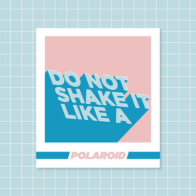 Polaroid - Do Not Shake It