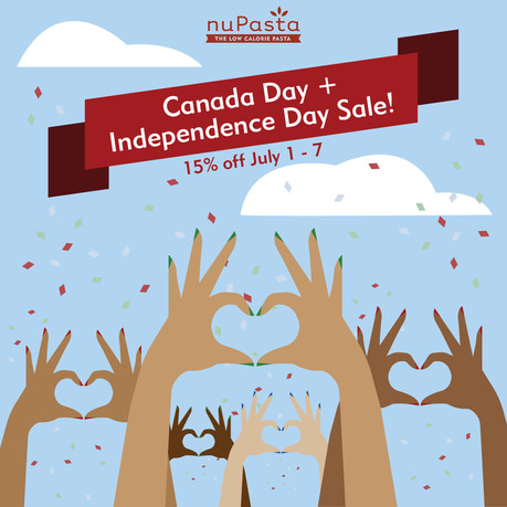 NuPasta Independence Day Sale