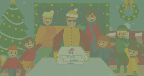 Domino's Winter - Click to view more!
