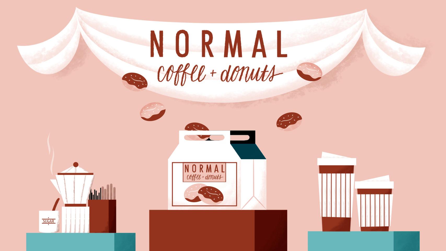 Normal Coffee & Donut Storyboard: Hero