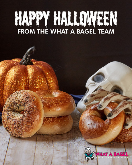 What A Bagel: Halloween