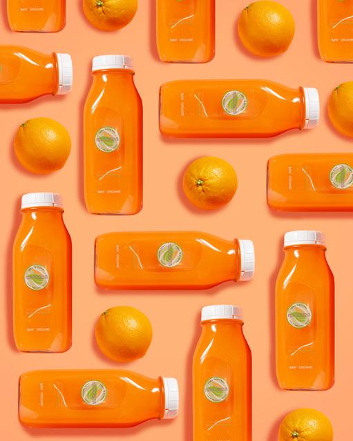 Revitasize Orange Pattern