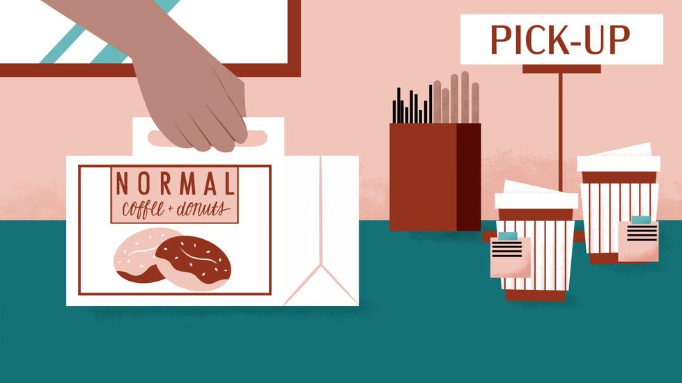 Normal Coffee & Donut Storyboard_ Scene