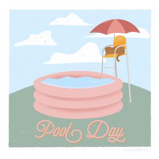 Kitty Pool Day