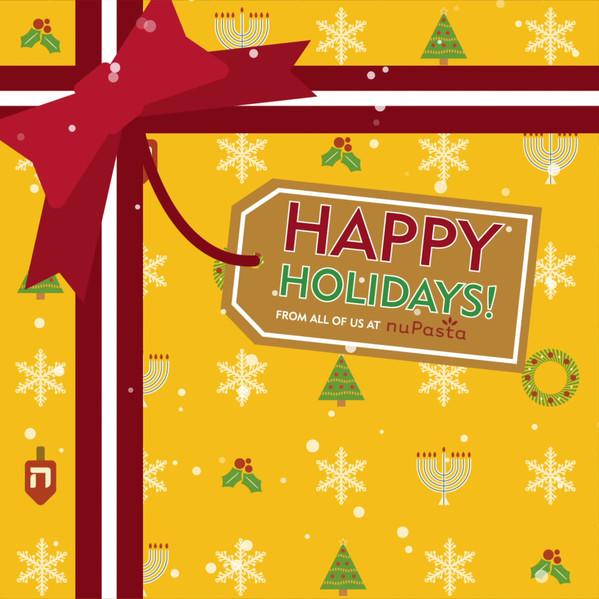 NuPasta Holiday Post