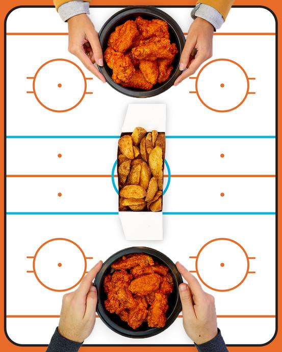Hockey Game Play