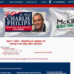 Charlie Philips councilman at-large, McKinney, TX
