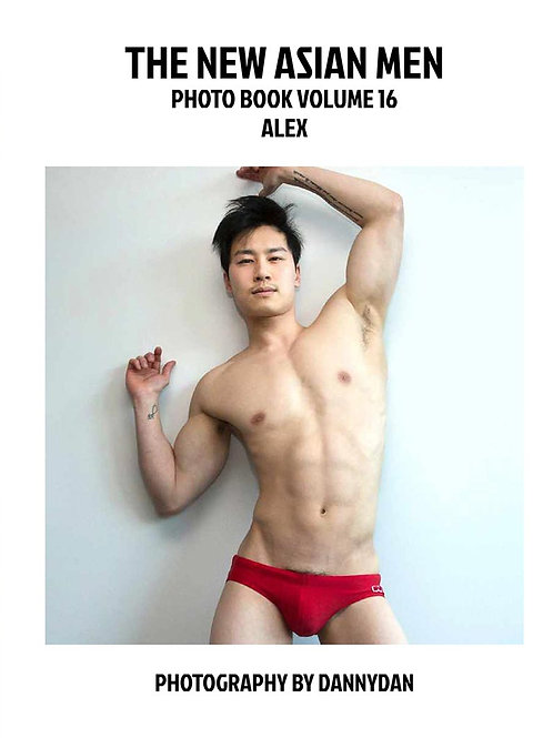 The New Asian Men 16 - Alex - Soft Cover Photo Book