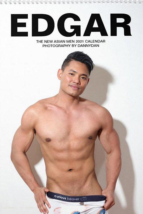 Edgar - The New Asian Men 2021 Calendar